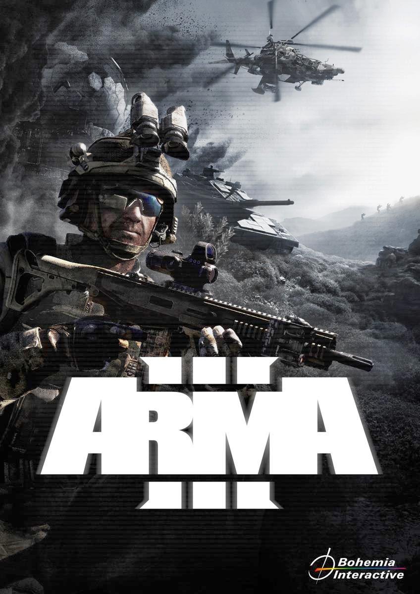 Cover Caratula Arma 3 PC