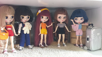 My Blythe Doll Collection