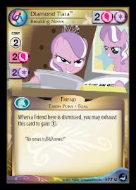 My Little Pony Diamond Tiara, Breaking News High Magic CCG Card