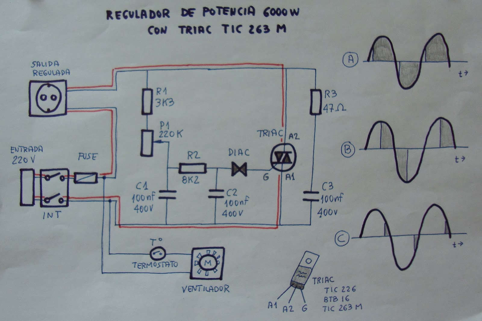 Circuito Variador De Frecuencia : Ciencia inventos y experimentos en casa circuitos Útiles