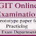 GIT Online Examination - Prototype paper for Practicing
