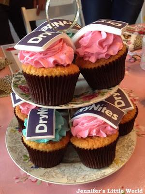 Drynites cupcakes