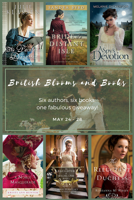 British Blooms and Books! 6-Book Giveaway!