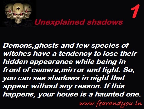 ghost pictures,basic signs of hauntings