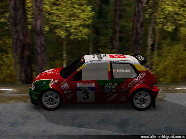 Citroën Saxo Rallye Villa de Santa Brigida 2003