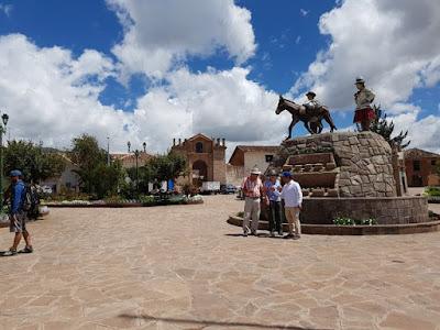 Plaza de Maras, en Perú