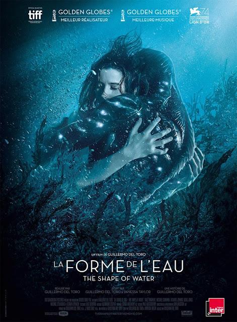 Film La Forme de l'Eau - L'Agenda Mensuel Février 2018