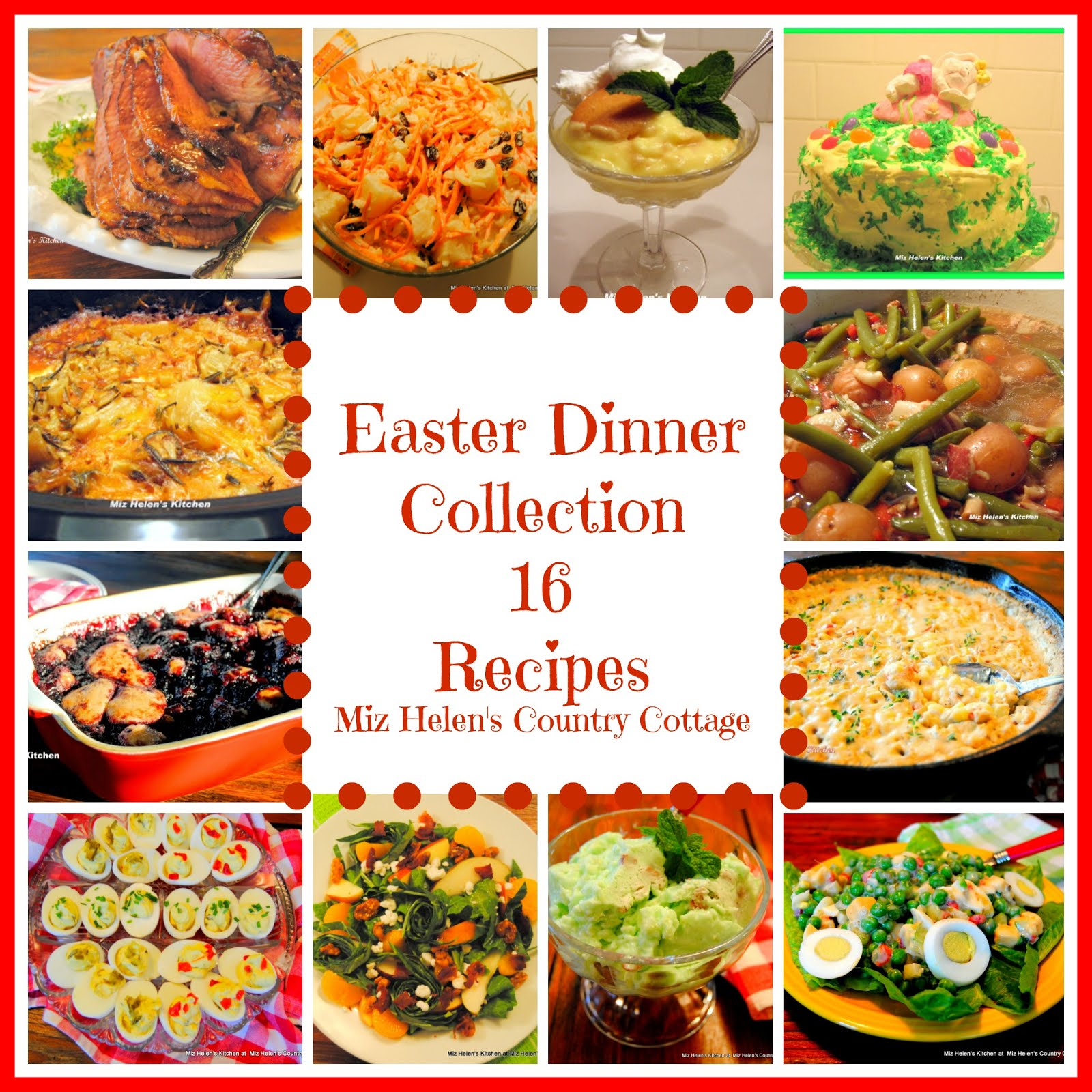 Easter Dinner Recipe Collection
