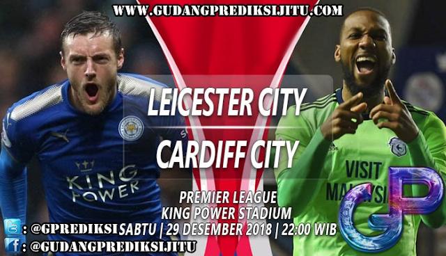 Prediksi Leicester City VS Cardiff City 29 Desember 2018