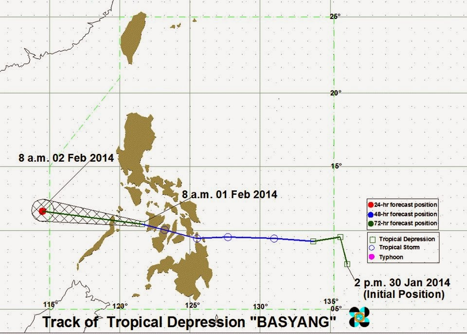 Typhoon Basyang update Feb1 2014
