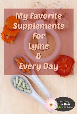 Favorite Supplements, Vitamins, Minerals, Detox, Lyme