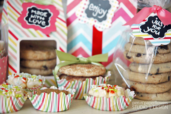 Pen + Paper Flowers STYLiNG Cookie Exchange or Bake Sale