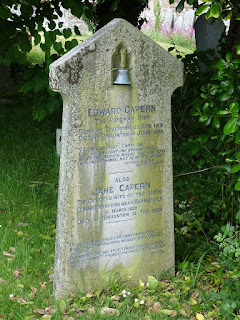 "The ""Postman Poet"" Edward Capern's Gravestone"