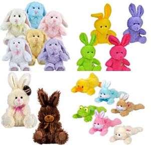 Plush Easter Animals