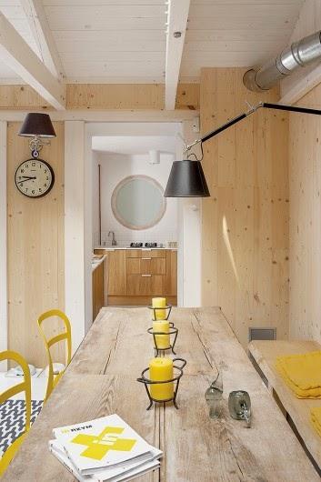 Uma casa decorada que era um porão. Blog Achados de Decoração