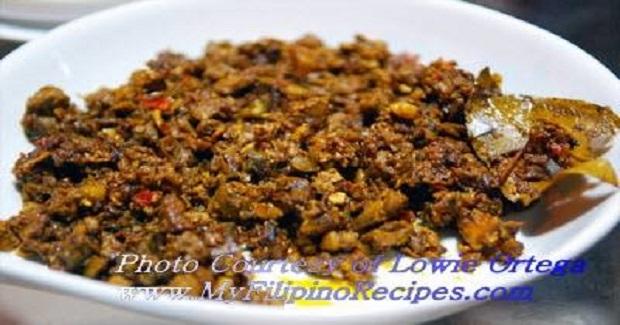 Filipino Bopis Recipe