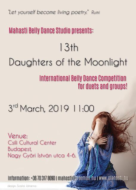 2019 Holdfény lányai verseny plakát