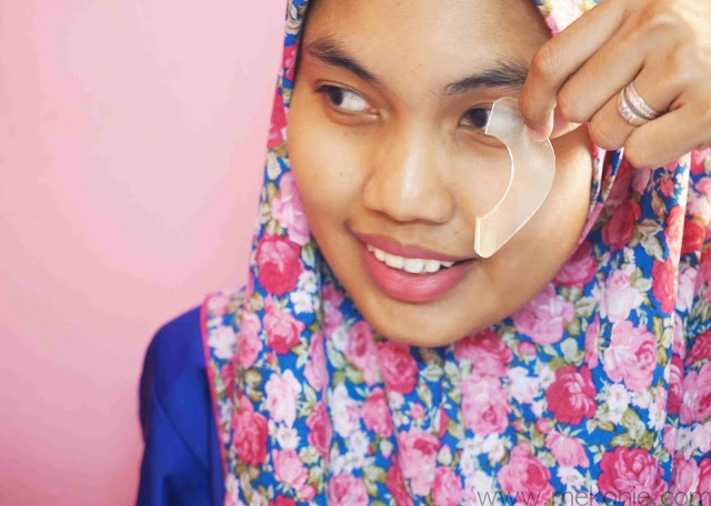BEAUTY REVIEW OGOS - PETITFEE HILANGKAN EYE BAG