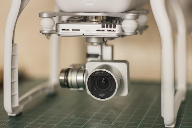 DJI Phantom camera