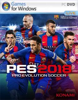 تحميل لعبة PES 2018
