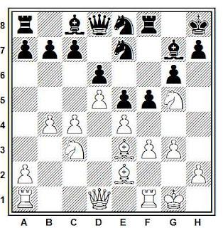 Posición de la partida de ajedrez Jonathan Speelman vs. Judit Polgar, Hastings 1993