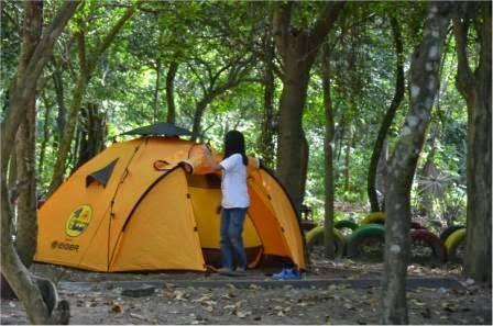 Camping Ground Pantai Papuma Jember - bromotravelguide