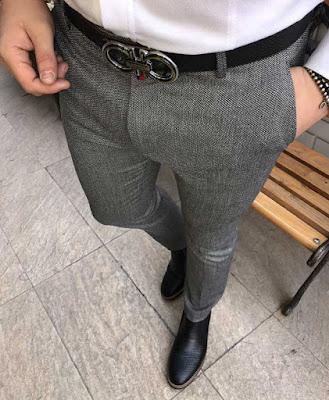 Dar kesim, dar paça İtalyan tarzı pantolonlar