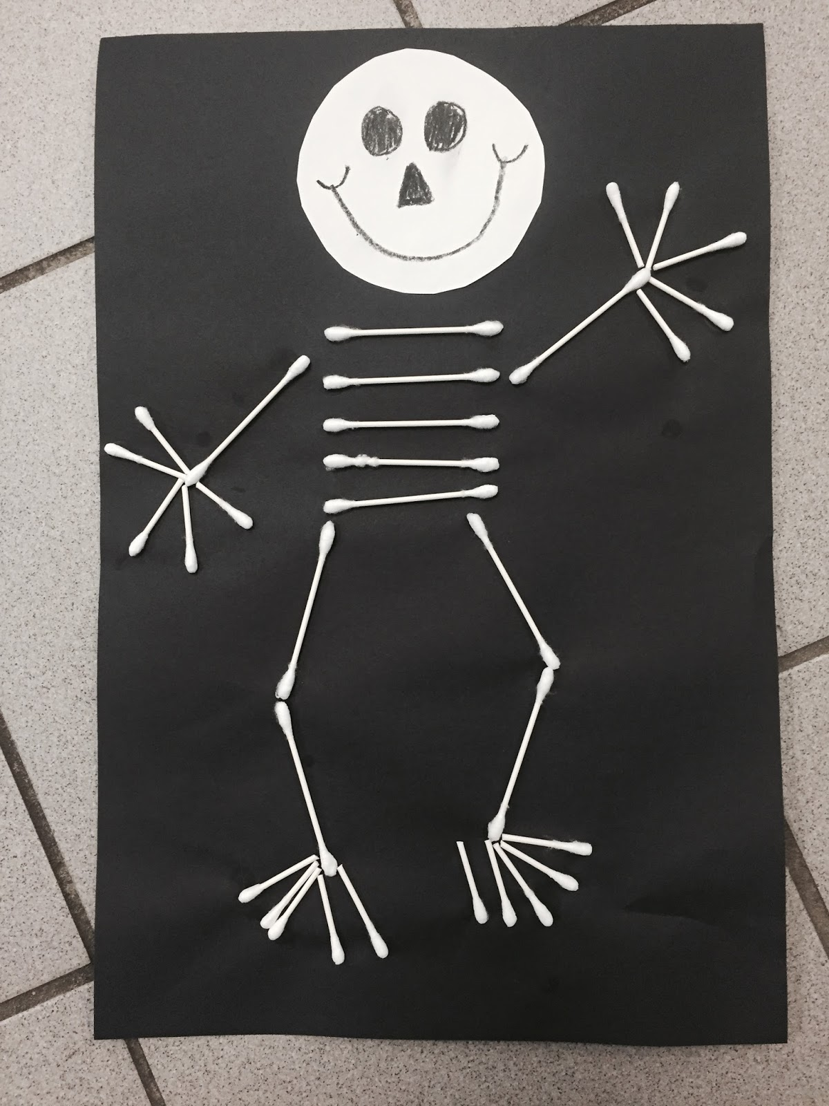 skeleton hiccups writing activity for high school