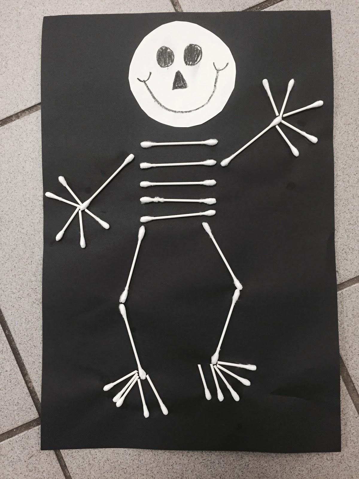 Kindergarten Rocks Skeleton Fun