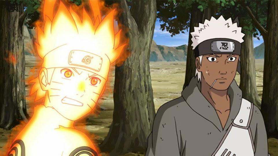 Naruto y Omoi