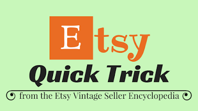 help for Etsy vintage sellers