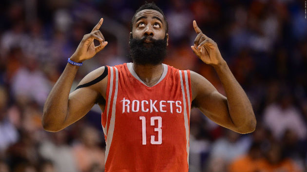 James Haden compte bien mener les Houston Rockets à la victoire face aux New Orleans Pelicans en NBA