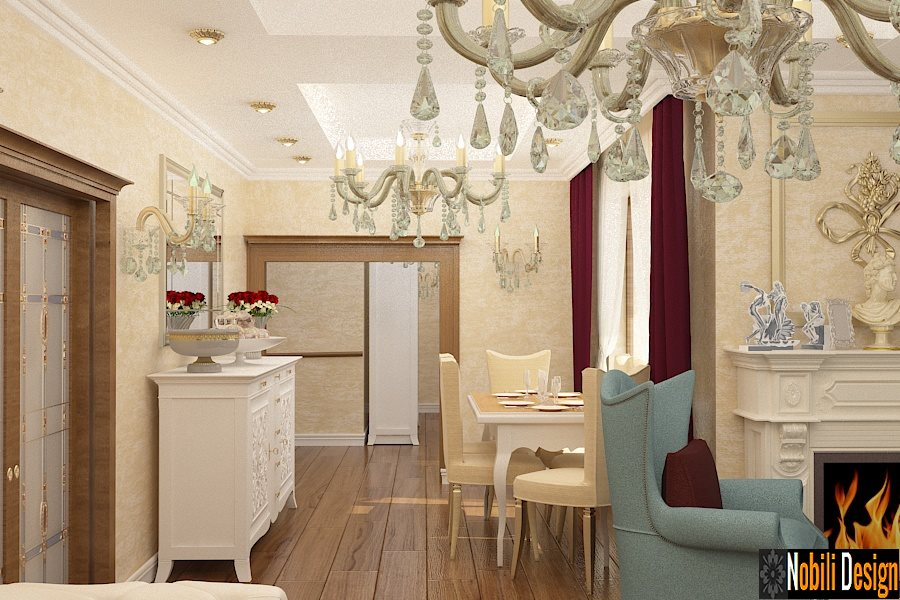 Design - interior - living - casa - stil - clasic - Bucuresti