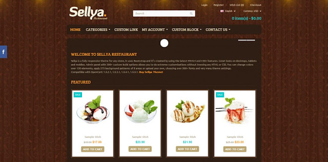 Sellya Opencart Theme Download