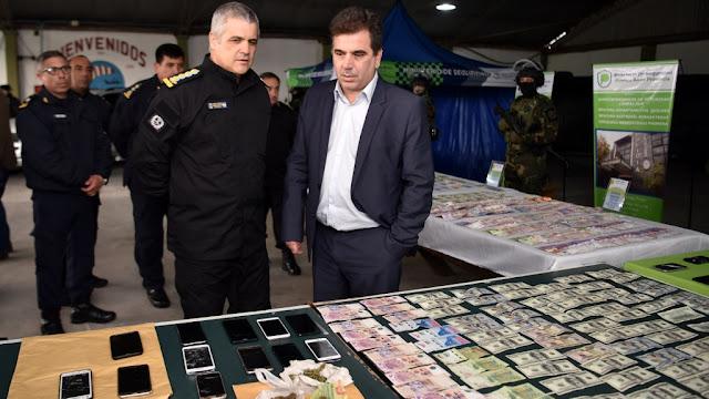 Ritondo supervisó operativo policial que desmanteló peligrosa banda narco