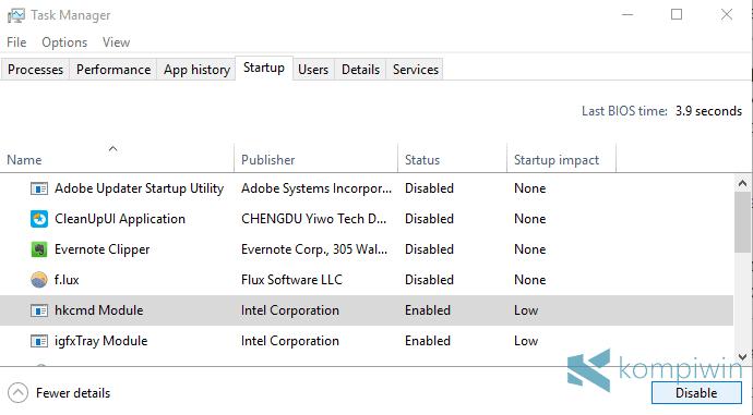 startup windows