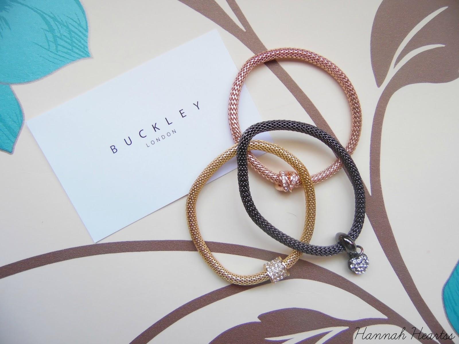 Buckley London Sparkle Mesh Bracelets