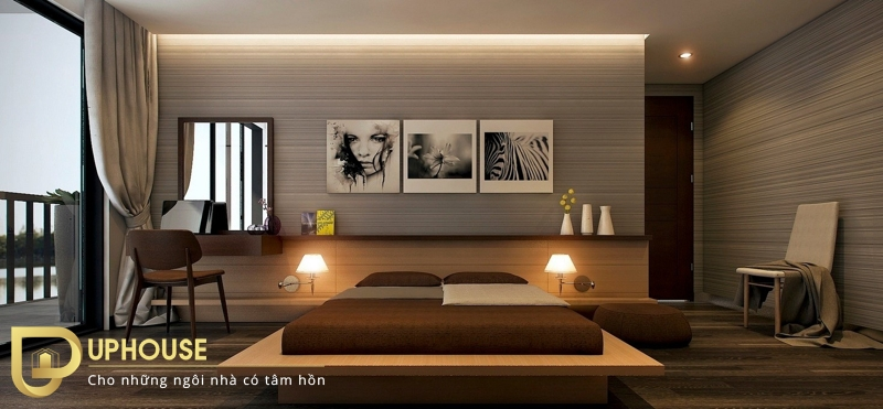 Phòng ngủ tối giản đẹp 05