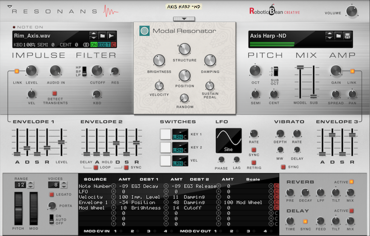 Create Realistic Bells and Plucked Instruments With The First