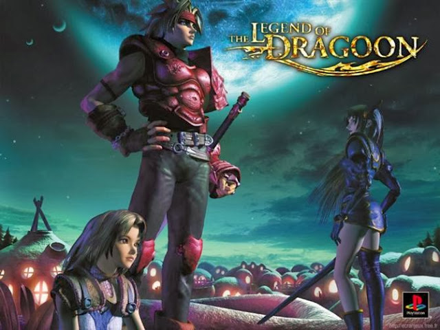 game rpg ps 1 bagus Legend of Dragoon