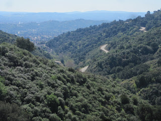 View south toward Glendora