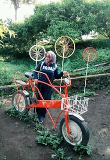 Spot sepeda di Agrowisata Bhakti Alam, Ngembal, Pasuruan