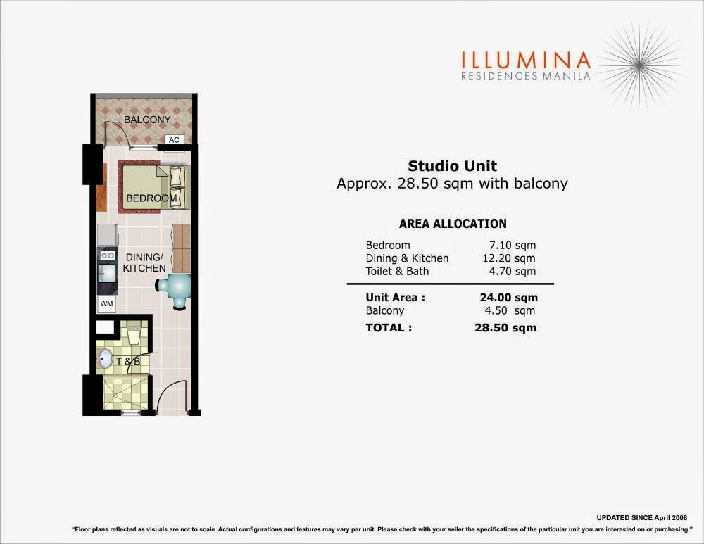 Illumina Residences Studio Unit