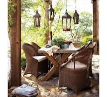 Outdoor Garden Furniture Design Pottery Barn
