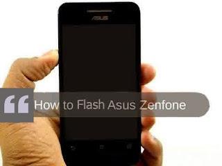 Cara Flash & DownGrade Android KitKat ke JellyBean ASUS Zenfone 4