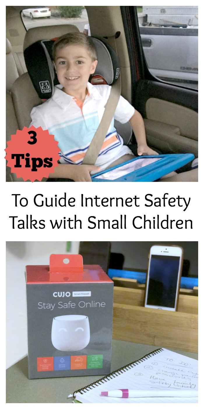 What is Cujo, Does Cujo help with parental controls, how can I explain internet safety with my little kids, How can I monitor my teenagers internet usage, tips to guide internet safety talks with small children
