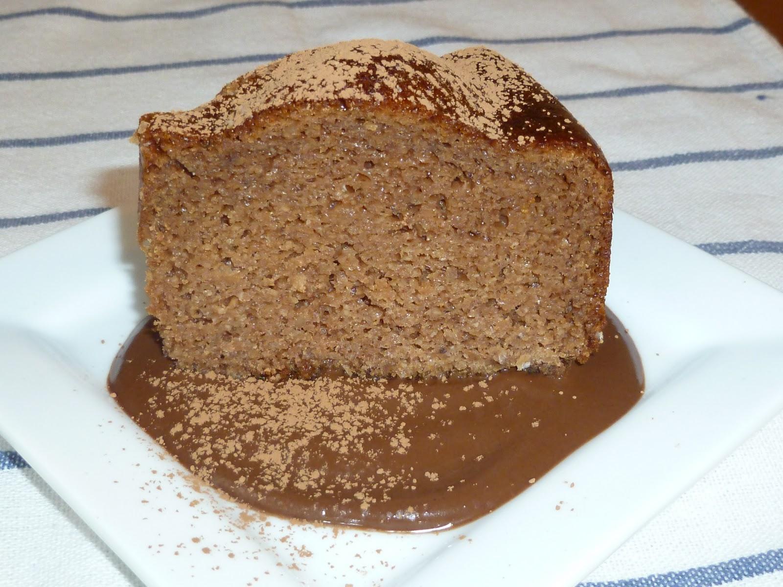 Pumpkin Spice Cake With Chocolate Ganache Grain Free