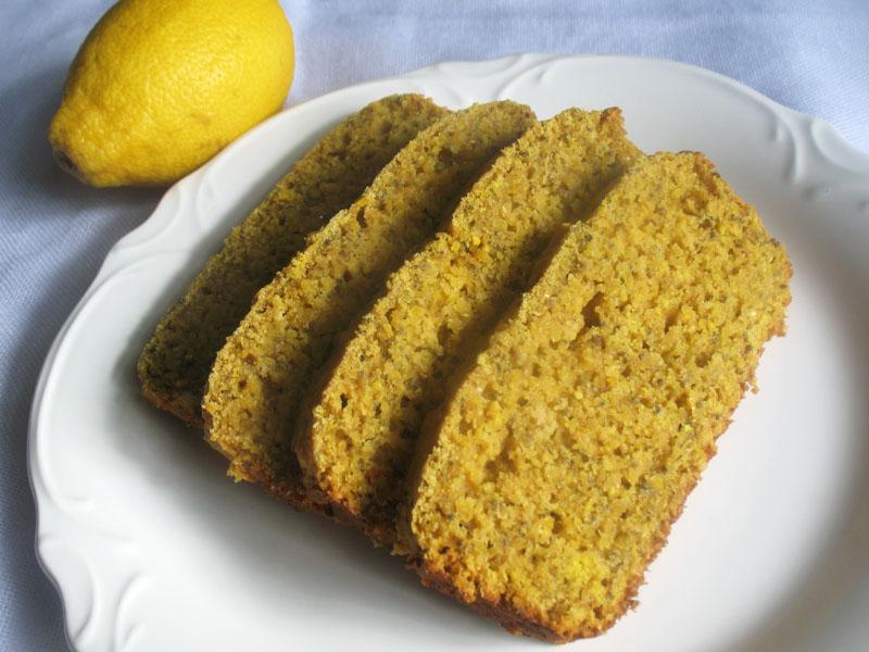 Moist Lemon Loaf Cake Recipe