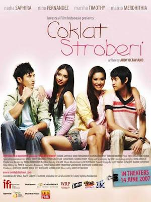 Coklat Stroberi Poster