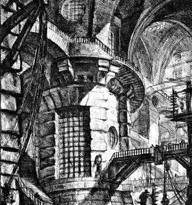 Giovanni Battista Piranesi the round tower